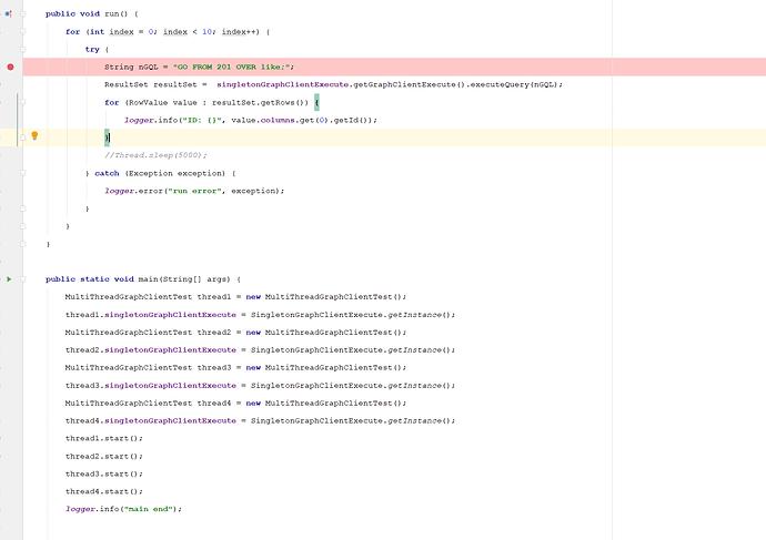 多线程样例代码
